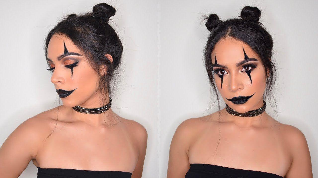 Halloween Makeup Easy Clown.Halloween Clown Makeup Tutorial Halloween Makeup
