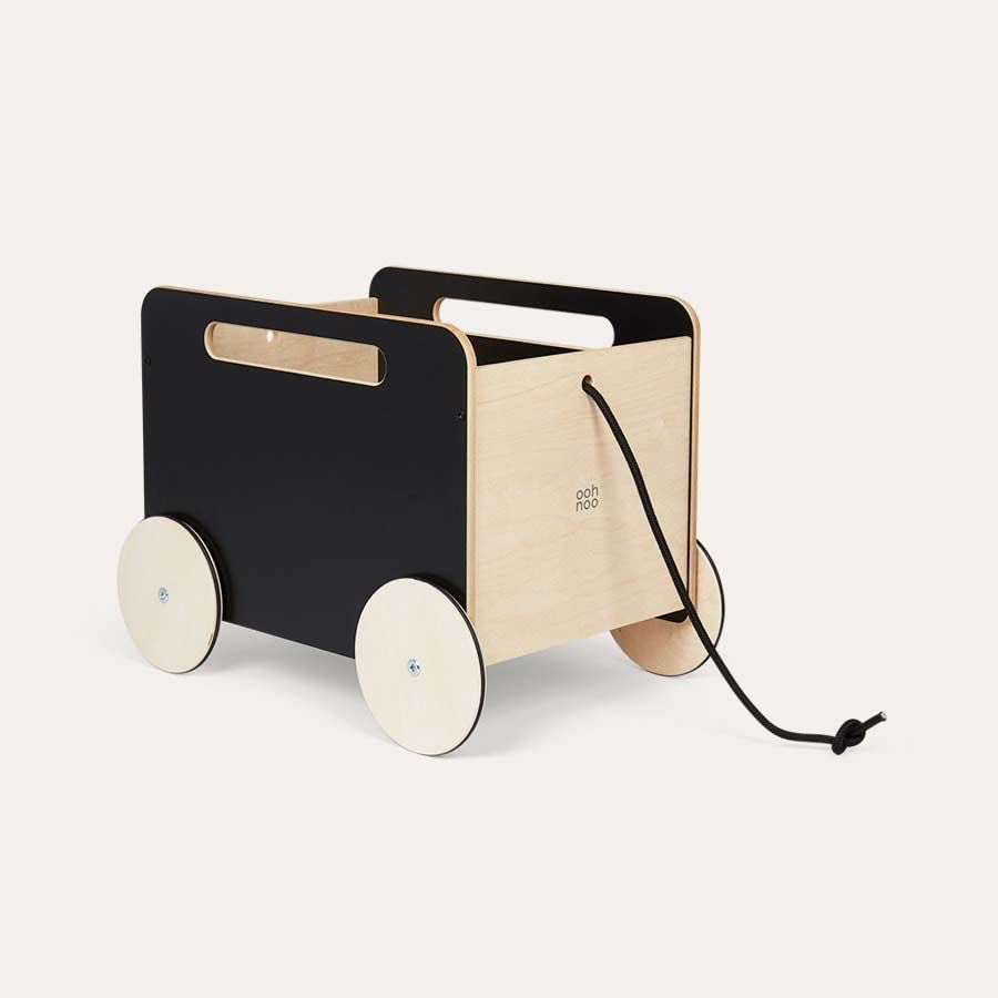 Toy Chest On Wheels Ooh Noo Ride Ons Black In 2020 Toys Toy