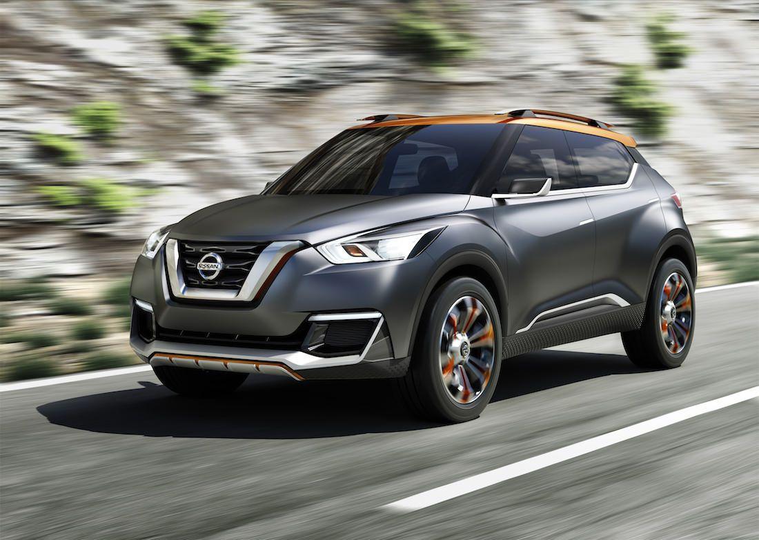Nissan Devoile Le Nissan Kicks Concept Bmw Suv Crossover Nissan