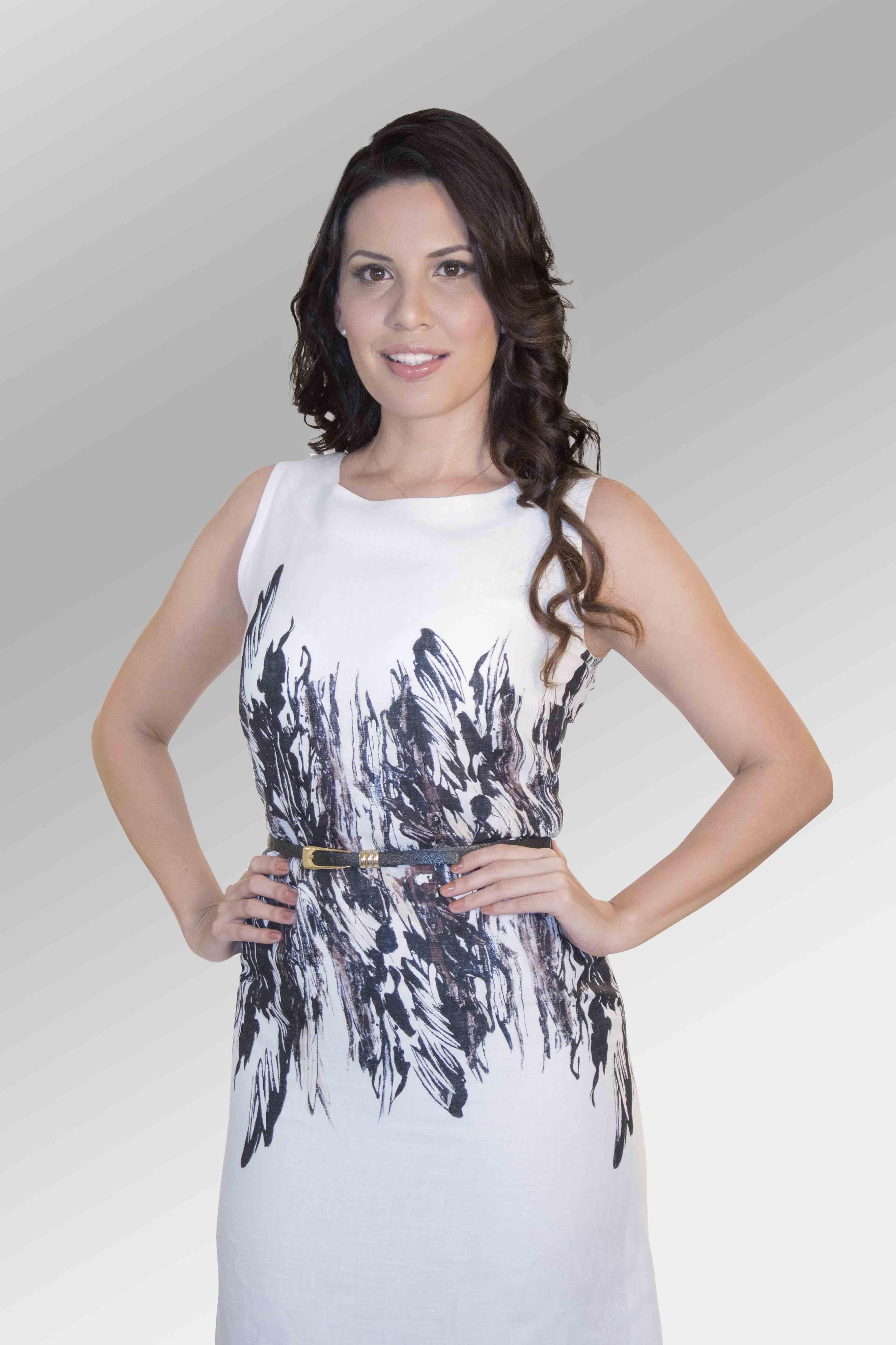 Vestido Juniper #moda #lino #SS2014 www.abito.com.mx