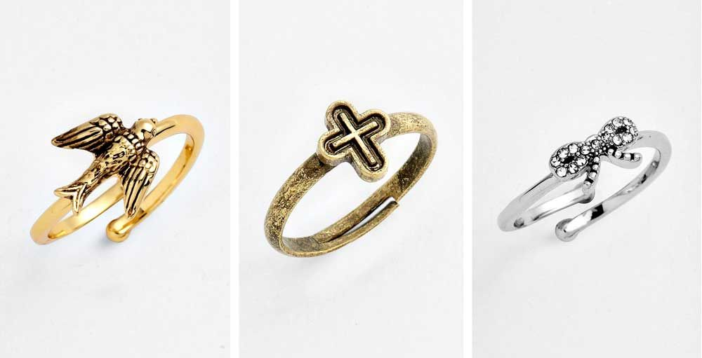 "Would You Wear This Jewelry Trend?: Top Knuckle or ""Midi"" Finger Rings"