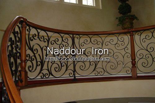 Wrought Iron Stair Rail