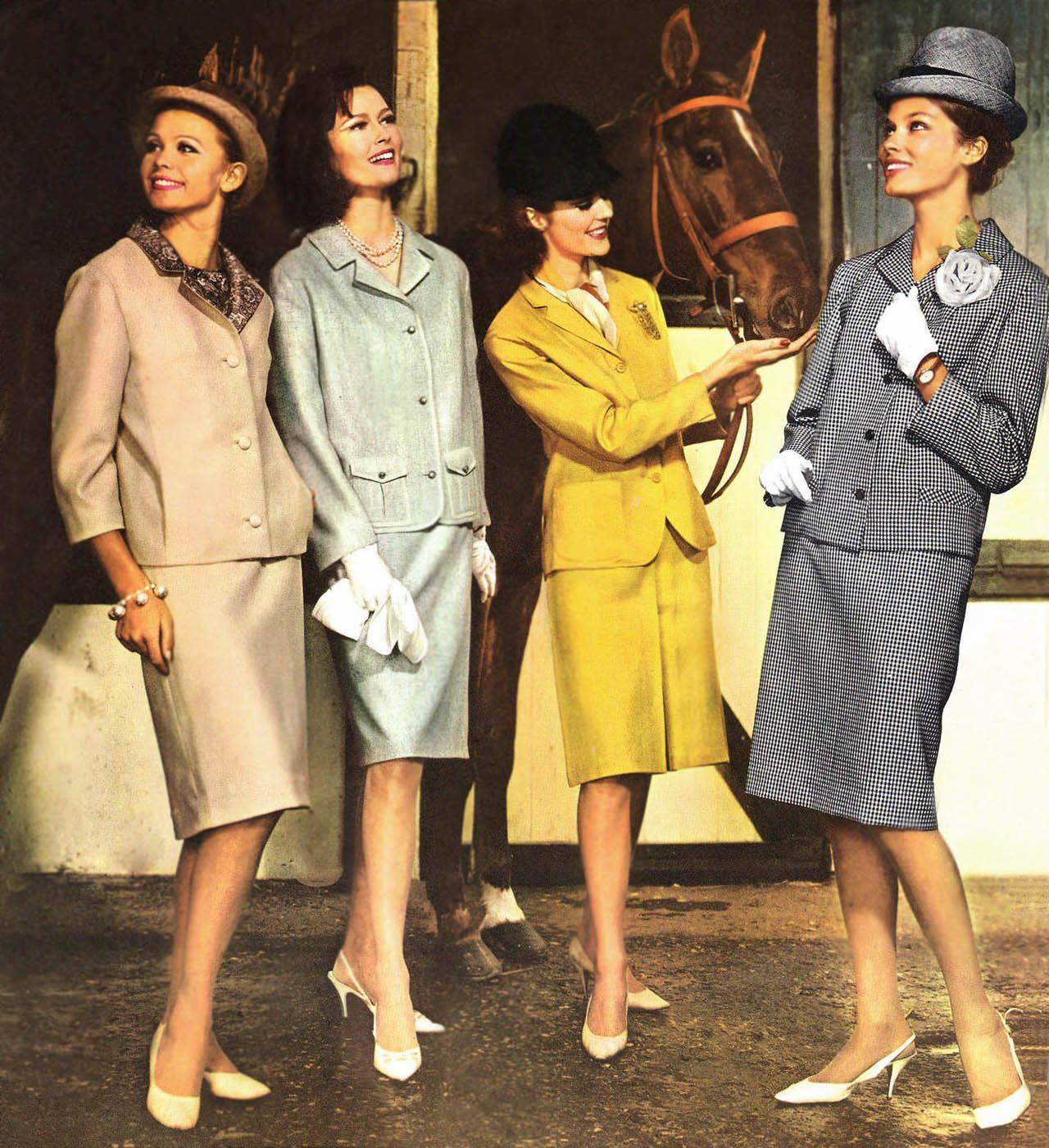 fashion for women 1964 1960 1969 clothes accessories pinterest mode des ann es 60. Black Bedroom Furniture Sets. Home Design Ideas