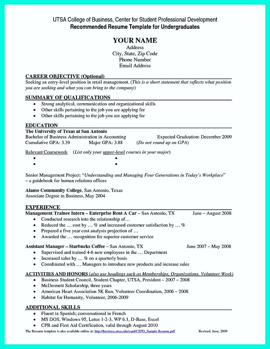 Nice Best College Student Resume Example To Get Job Instantly Job Resume Examples Student Resume Template College Resume