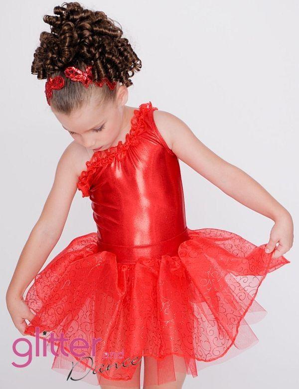 Tiny Tots dance costume.