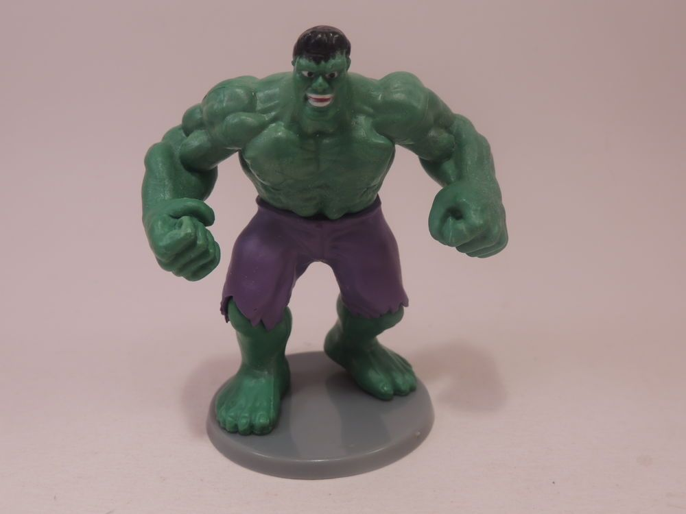 Incredible Hulk GREENBRIER Action Figure Avengers Marvel Comics cake topper #MEGABLOKS