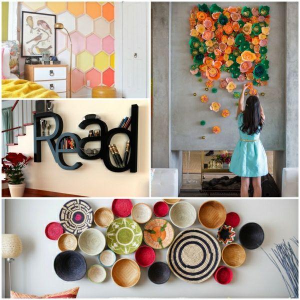 Kreative Wandgestaltung für eine außergewöhnliche Stimmung im Raum ...