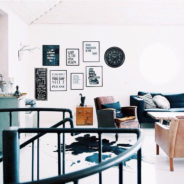 || #home #inspiration, wij houden van de zwart/wit combinatie! #westwingnl #living #style #design ! ||