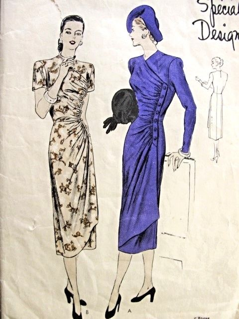 1940s Dress Patterns