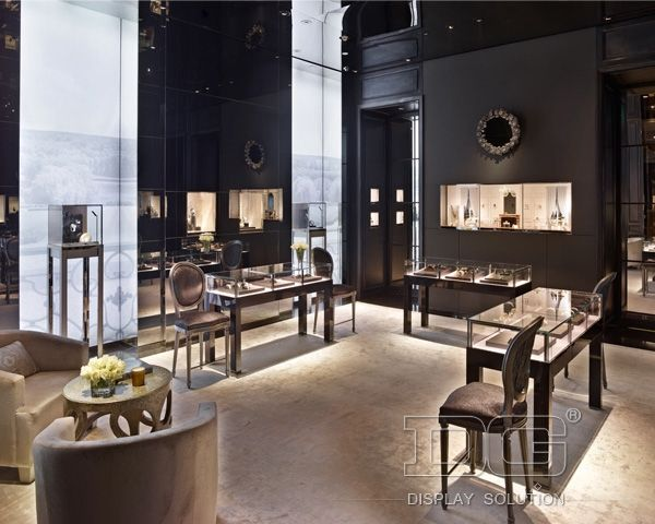 Je76 high end jewelry store interior design display for Interior designs of boutique shops