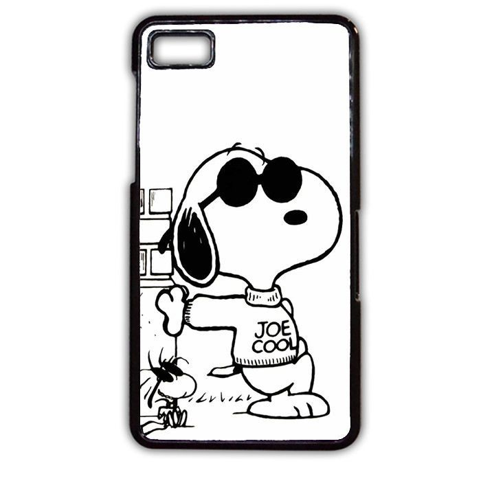 Snoopy Joe Cool TATUM-9766 Blackberry Phonecase Cover For