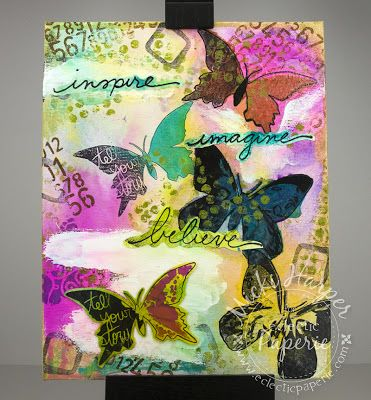 Eclectic Paperie: The Butterfly Experiment