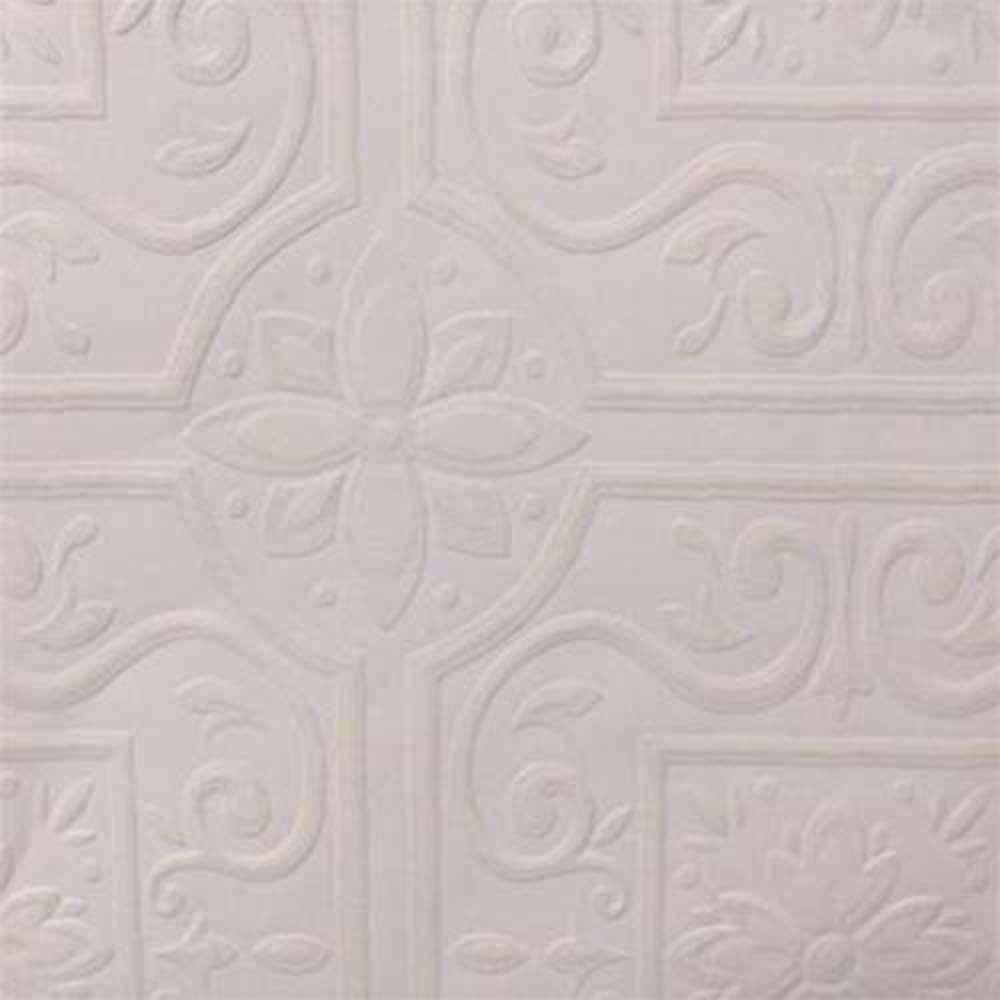Paintable Wallpaper Embossed Tile Large Heavy Textured 148 59000 Paintable Wallpaper Vintage Tin Ceiling Tile Embossed Tile