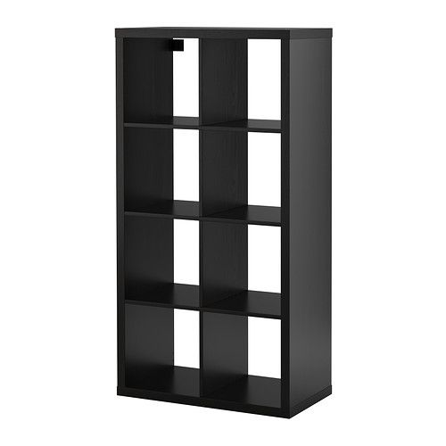 Kallax Shelf Unit Black Brown Living Room Pinterest Kallax