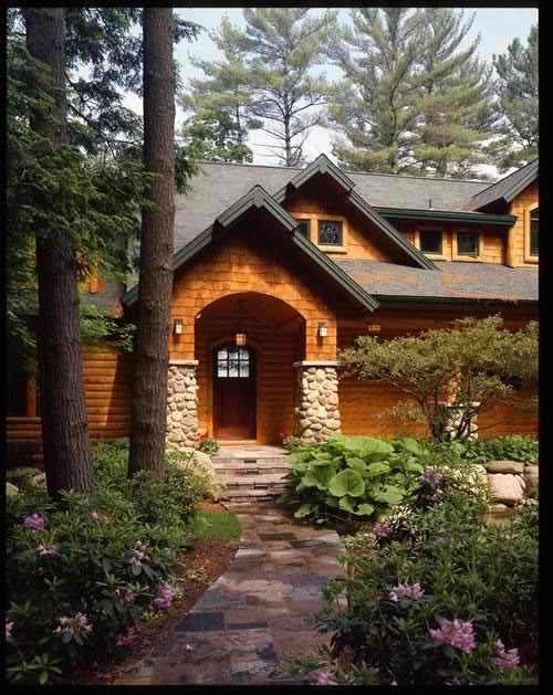 Log Siding Log Cabins Log Homes Photo Gallery Michigan