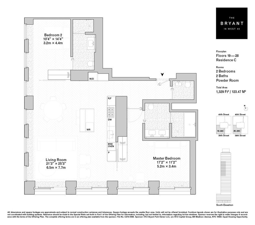 See Floorplans For David Chipperfield S Bryant Park Condos Floor Plans House Arch Design Guest House Plans