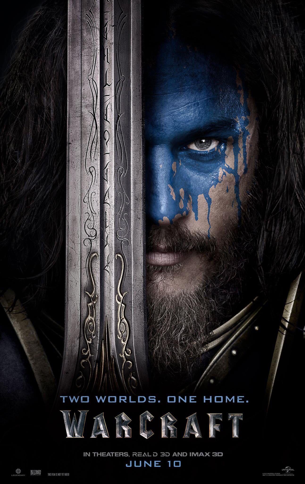 Warcraft Movie Travis Fimmel Poster De Peliculas Peliculas En Espanol Latino