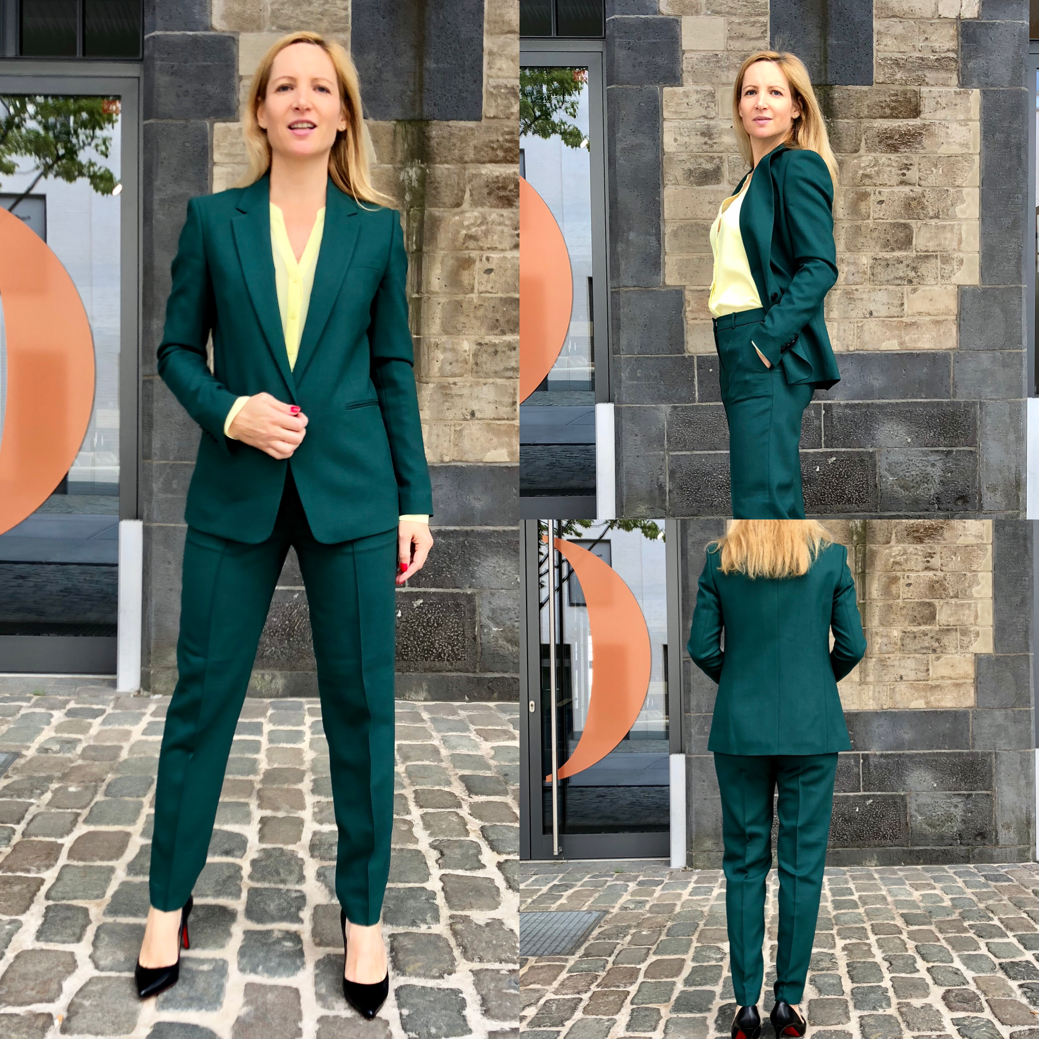 8eb10b820 Hugo Boss Pant Suits dark green | Style board in 2019 | Green suit ...