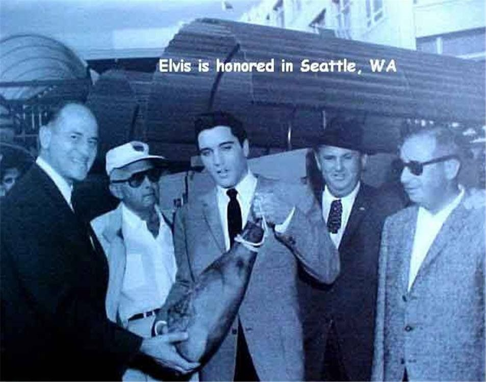 13th September 1962 Seattle Fair Last Day Of Filming It Happened