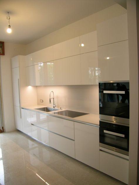 Cucina a vista Ernestomeda ONE | Cozinhas | Küche dekoration ideen ...