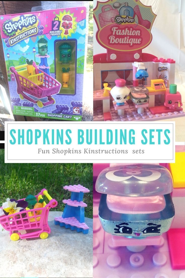 Shopkins Lego Sets Buildable Shopkins Kinstructions Gifts For