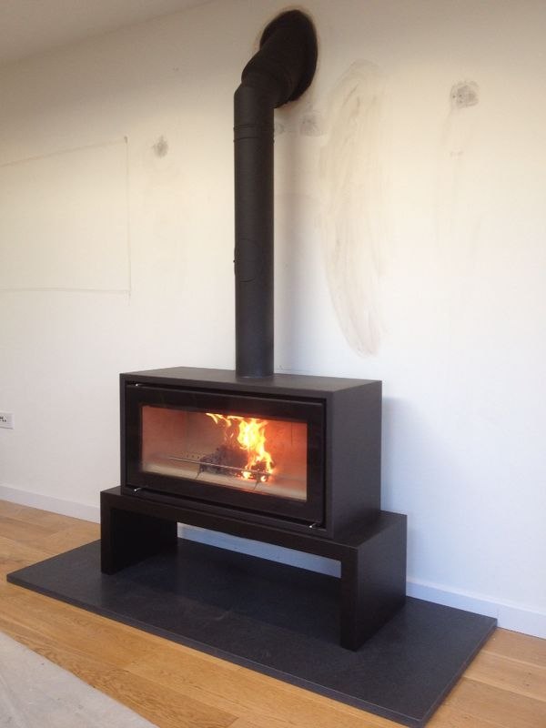 Image Result For Free Standing Log Burners Fireplace