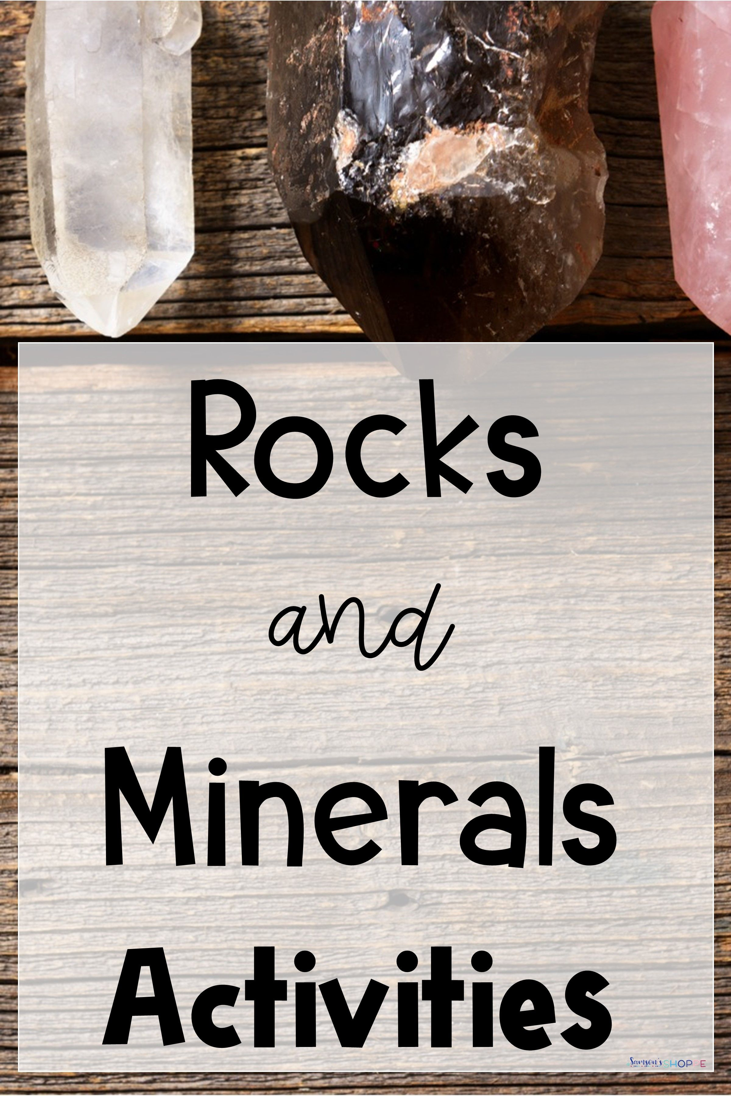 Types Of Rocks And Minerals Unit