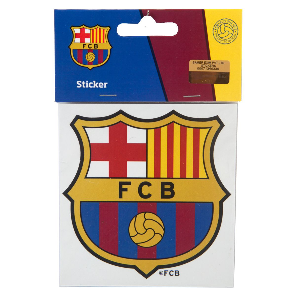Fc Barcelona Stickers.F C Barcelona Window Sticker Ws Rs 299 Official