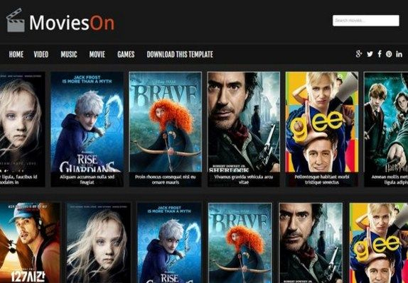 Best Free Blogger Templates For Movie Site 2016 Free Blogger Templates Blogger Templates Movie Sites