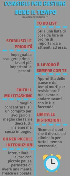 Gestione del Tempo #gestione #tempo