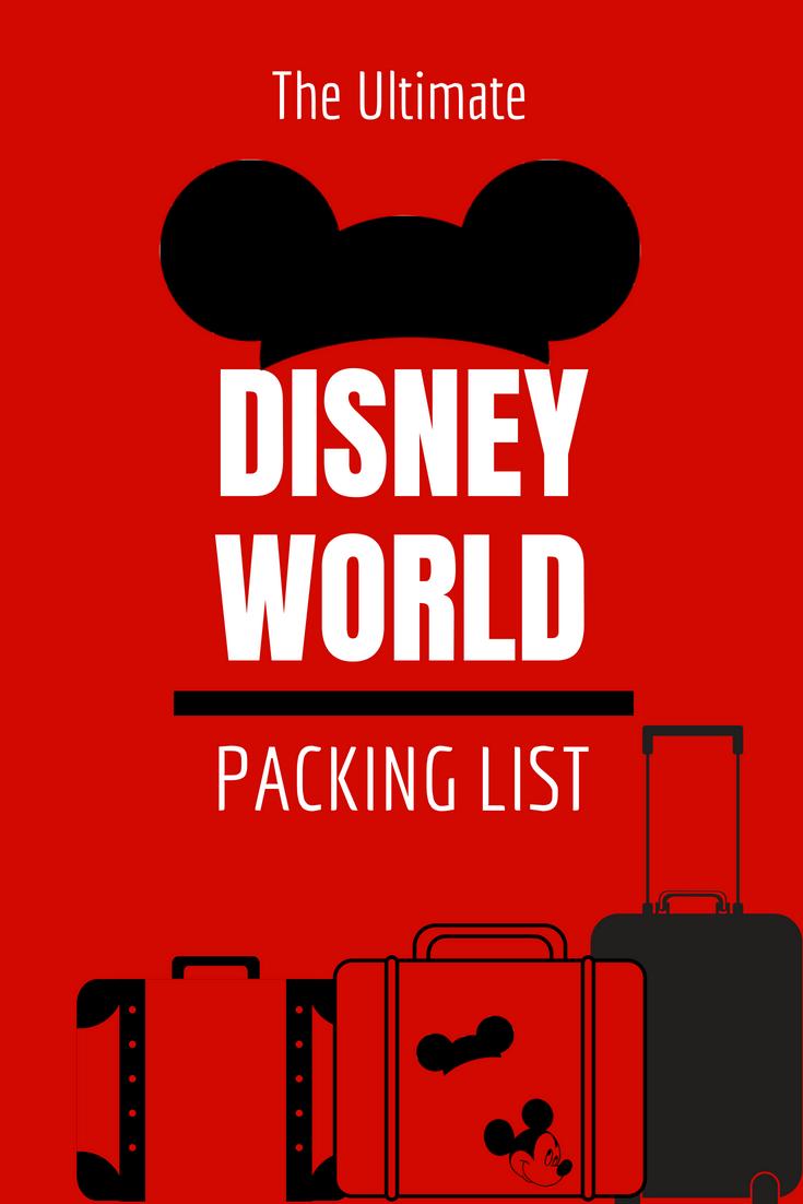 d676da9adde The Ultimate Disney World Packing List - Over 50 Must-Pack Items + FREE  PRINTABLE!  disneyworld  disneypacking  disney