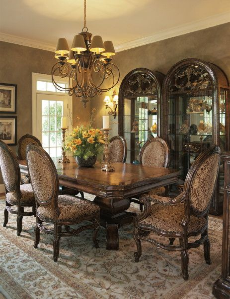 Marge Carson Furniture  Just Nice Dining Rooms  Pinterest  Room Unique Hickory Dining Room Sets Inspiration