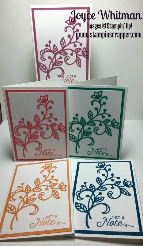 In Color Note Cards by Cookielady01 - Cards and Paper Crafts at Splitcoaststampers