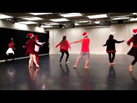 Choreography Class All I Want For Christmas Is You Dance Cover Youtube Choreography Dance Choreography Dance