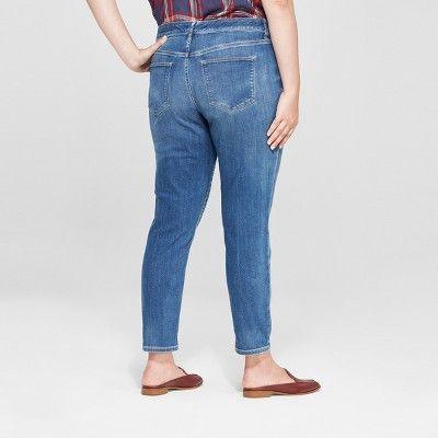 a5913730eed Women s Plus Size Skinny Jeans - Universal Thread Dark Wash 24W ...