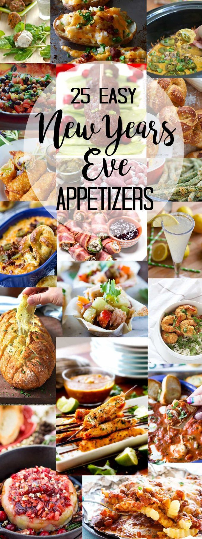 25 New Year's Eve Appetizers - Easy Peasy Meals