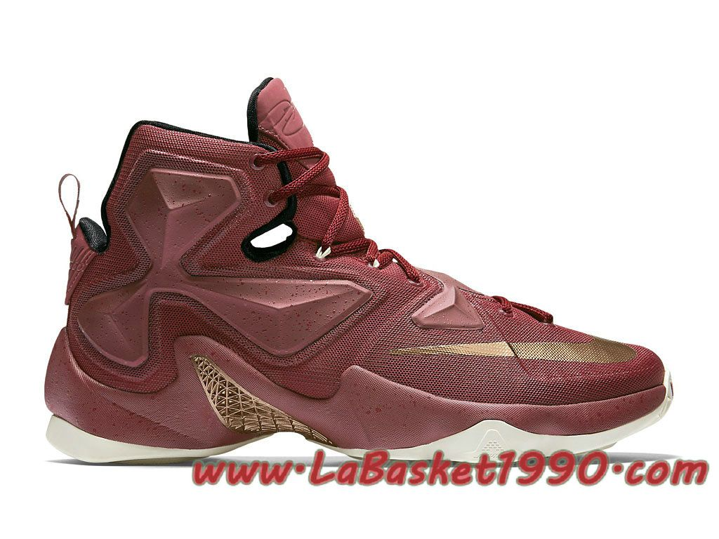 13 Pas Lebron Bronze Nike 690 Cher Chaussures 807219 Basket WYE9DH2I
