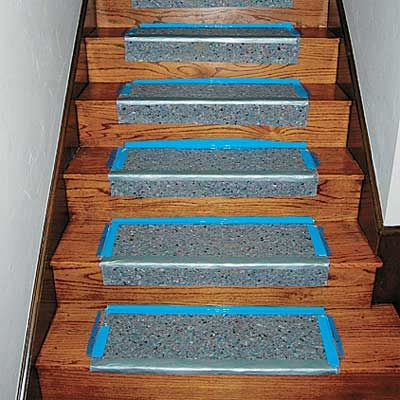 How To Install A Low Cost Stair Runner