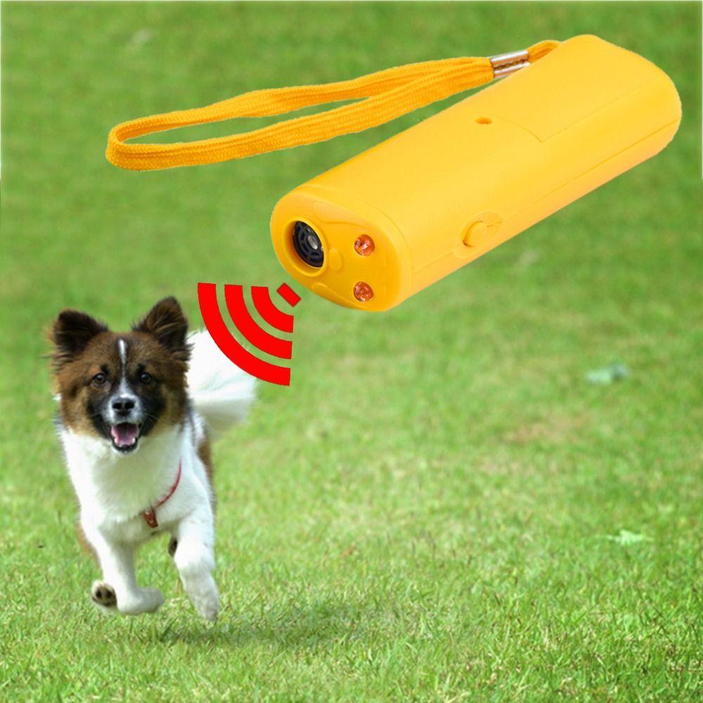 Dog S Led Ultrasonic Anti Bark Training Device Dog Supplies Pet