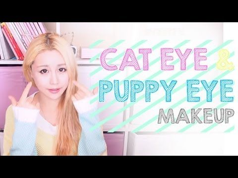 Difference Between Cat And Puppy Dog Eye Makeup The Wonderful