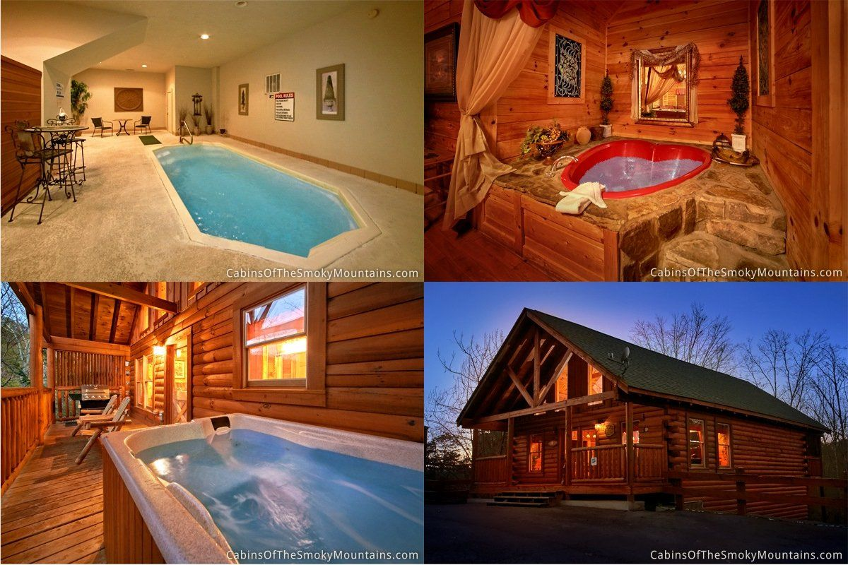Plenty Of Ways To Get Wet In This Cabin Including The Indoor Swimming Pool Taken From Our Blog Feature On All Our Indoor Swimming Pools Swimming Pools Cabin
