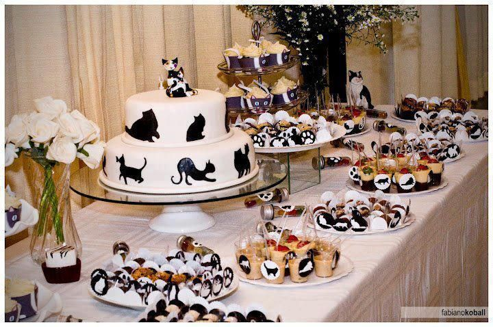 Cat Wedding Cake