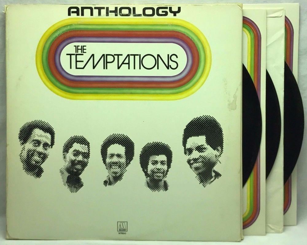 The Temptations Anthology Motown 1973 M782A3 LP, Vinyl Record, Album ...
