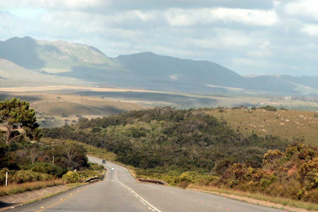 On the way to Kynsna, Western Cape, South Africa