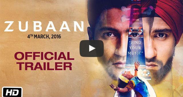 Zubaan Official Trailer Official Trailer Trailer Bollywood Movie Trailer