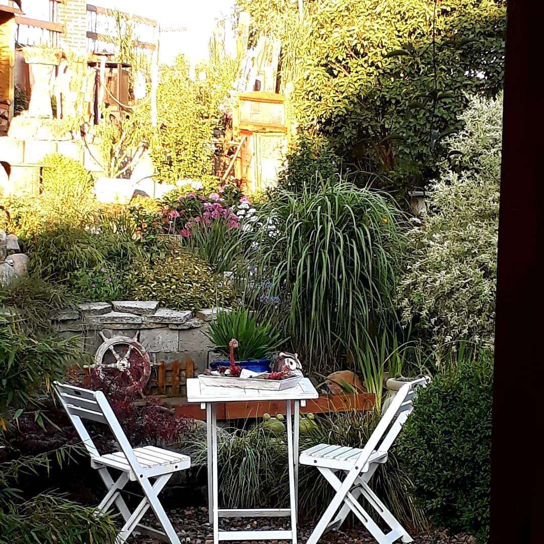 Bei Den Etwas Kuhleren Temperaturen 25 Einen Kaffee Geniessen Gutenmorgen Garten Entspannung Sommer Sommergarten Garten Pfl In 2019 Outdoor Furniture Sets Outdoor Decor Home Decor