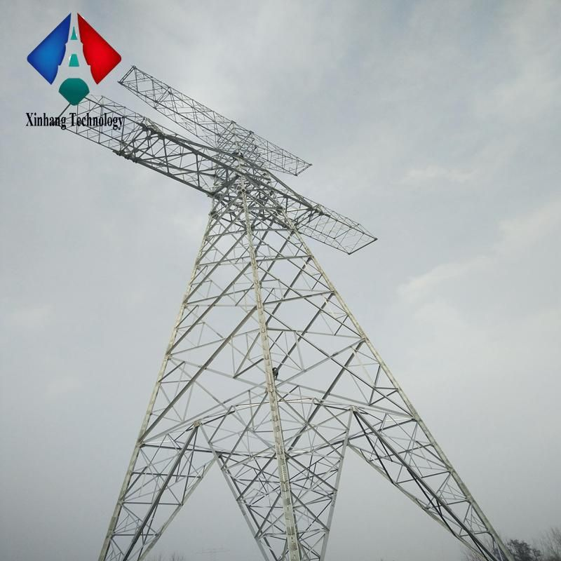 Pin On Power Transmission Line Tower