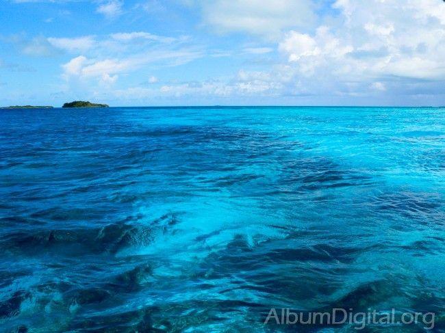 Mar Caribe, bello como siempre