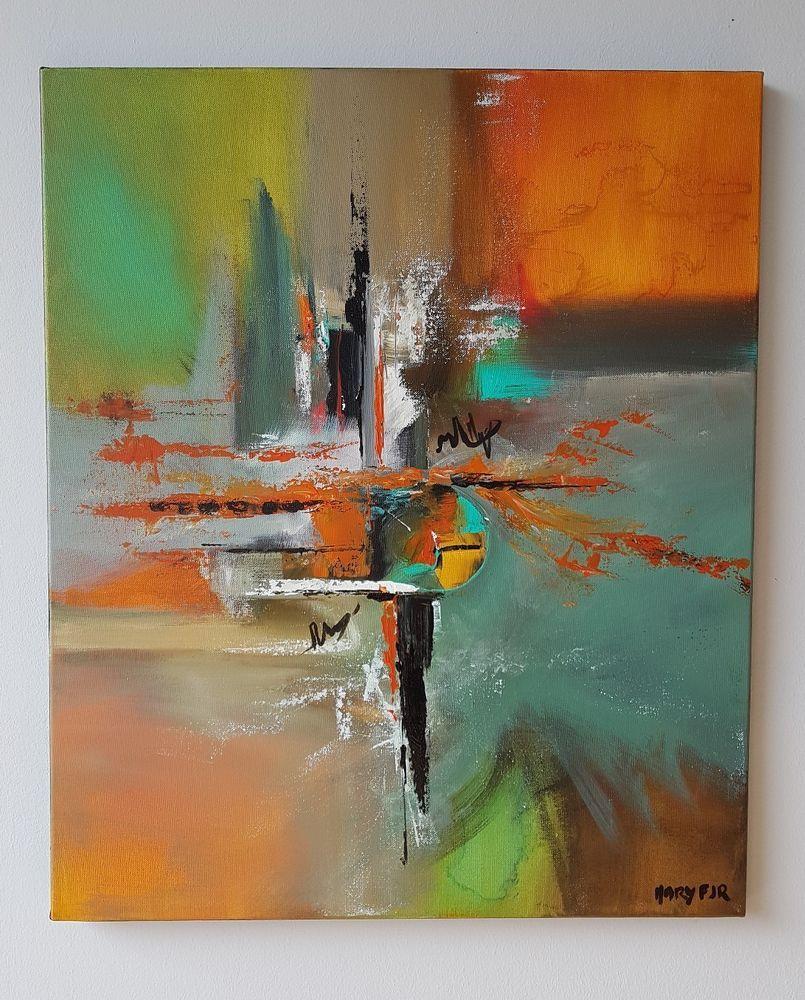 Tableau Abstrait Contemporain Peinture Abstraite Originale Signee