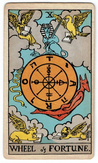 4515935bd59afb Tarot Card Meanings  the Wheel of Fortune Voyance Gratuite Immediate,  Tirage Tarot Gratuit,
